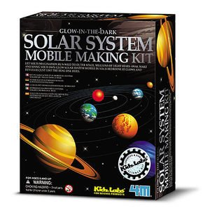 【4M 科學探索系列】Glow Solar System Mobile Making Kit  太陽系