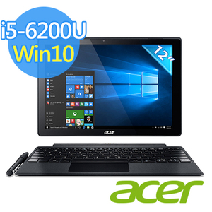 ACER Switch Alpha 12 i5-6200U 12吋 QHD筆電(8G/256G SSD/Win10/SA5-271P-574Y)