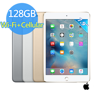 Apple iPad mini 4 Wi-Fi+Cellular 128GB 平板電腦 超值組合