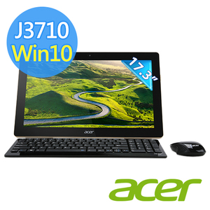 Acer Z3-700 17.3吋All in one 觸控液晶電腦 (J3710/4G/128GB SSD/Win10)