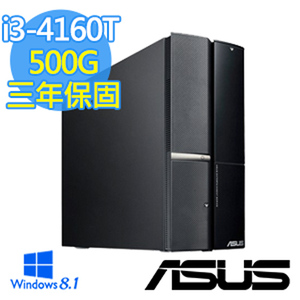 ASUS華碩  P50AD 【星艦飛梭】i3-4160T Win8.1桌上型電腦(P50AD-0011A416UMS)