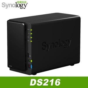 Synology DS216 2Bay 網路儲存伺服器