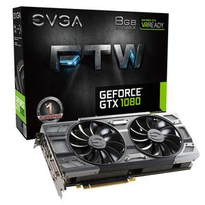 ★快速到貨★EVGA 艾維克 GTX1080 8GB FTW BP 2BIOS ACX3.0 GDDR5X PCI-E圖形卡