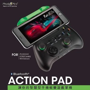 FlashFire ACTION PAD 智慧藍芽遊戲手把Android iOS^(ica