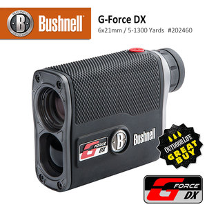 【Bushnell】G-Force DX 6x21mm 防水型雷射測距望遠鏡 #202460 (公司貨)