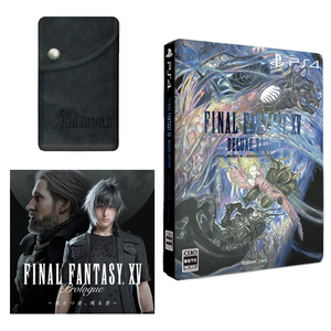 PS4 太空戰士15 FFXV DELUXE EDITION 純日鐵盒版