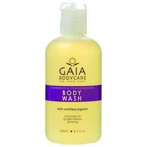 GAIA蓋雅 Body Wash~Lavender&Frankincense 蓋雅薰衣草清