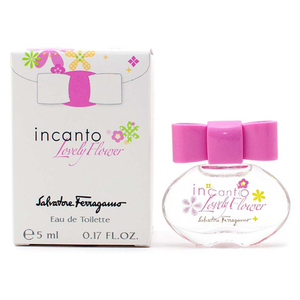 Salvatore Ferragamo incato lovely flower 甜蜜小花女性淡香水5ml