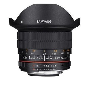 SAMYANG 12mm F2.8 ED AS NCS Fish-eye FOR CANON 魚眼鏡頭 (公司貨)