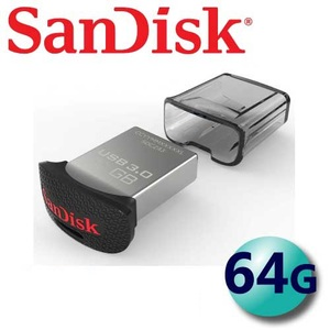 公司貨 SanDisk 64GB 150MB/s Ultra Fit CZ43 USB3.0 隨身碟