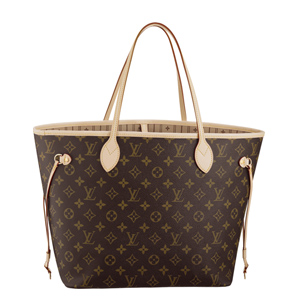 Louis Vuitton / LV  Monogram neverfull (中) 購物包 M40156