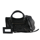 BALENCIAGA 黑色(BLACK) mini city 斜背 機車包 300295 D94JT 1000