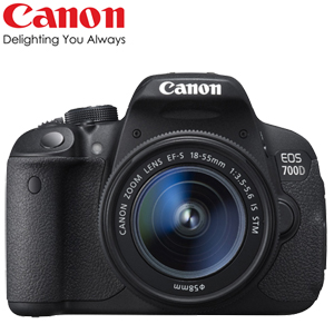 Canon EOS 700D 18-55mm STM (中文平輸)