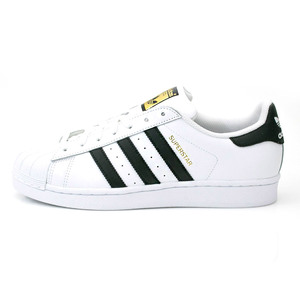 (男)ADIDAS SUPERSTAR休閒鞋白黑C77124-