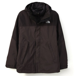(男)The North Face GT 羽絨兩件式外套黑CTS2KX7-