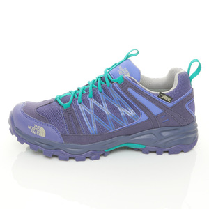 (女)The North Face GT低筒登山健行鞋紫A2X9EHX-