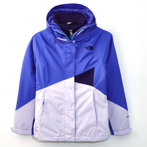 女 The North Face HV HS 兩件式外套紫CUD8DDF~