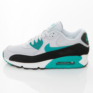 (女)NIKE WMNS AIR MAX 90 ESSENTIAL慢跑鞋灰綠616730017-