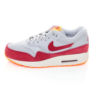 (女)NIKE AIR MAX 1 ESSENTIAL慢跑鞋灰紅599820015-