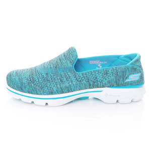 (女)SKECHERS GO WALK 3-RENEW健走鞋水藍13984BLU-