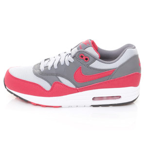 (男)NIKE-NIKE AIR MAX 1 ESSENTIAL慢跑鞋灰紅537383062-