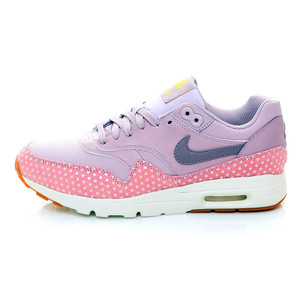 (女)NIKE AIR MAX 1 ULTRA ESSENTIAL慢跑鞋粉紫色704993501-