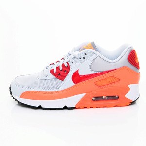 (女)NIKE WMNS AIR MAX 90 ESSENTIAL慢跑鞋白橘紅616730028-