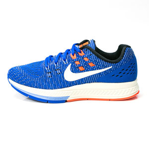 (女)NIKE WMNS AIR ZOOM STRUCTURE 19慢跑鞋藍806584408-