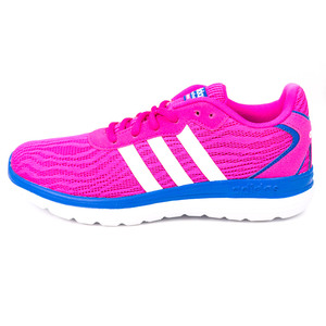 (女)ADIDAS CLOUDFOAM SPEED慢跑鞋桃紅F99563-