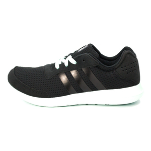 (女)ADIDAS ELEMENT REFRESH慢跑鞋黑AQ2225-