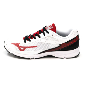 (男)MIZUNO RUSH UP 2慢跑鞋白紅J1GA168363-