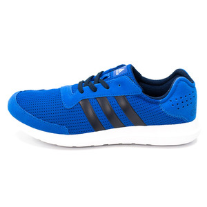 (男)ADIDAS ELEMENT REFRESH慢跑鞋藍AQ2218-