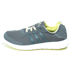 (女)ADIDAS ELEMENT REFRESH慢跑鞋灰AQ2224-