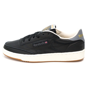 (男)REEBOK CLUB C 85 RETRO休閒鞋黑AQ9846-