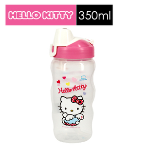 樂扣樂扣HELLO KITTY PP水壺-愛心天使(350ml)(附吸管)