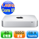 Apple Mac mini 1.4GHz 雙核心 Intel Core i5 500GB硬碟