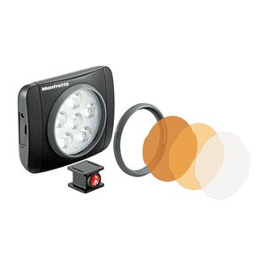 Manfrotto LUMIMUSE 6 LED燈 補光燈 MLUMIEART-BK (公司貨)