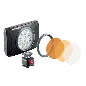 Manfrotto LUMIMUSE 8 LED燈 補光燈 MLUMIEMU-BK (公司貨)