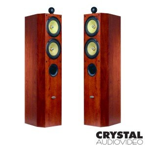 英國 Crystal AudioVideo PRISMA Tower II Hi-End 落地型揚聲器