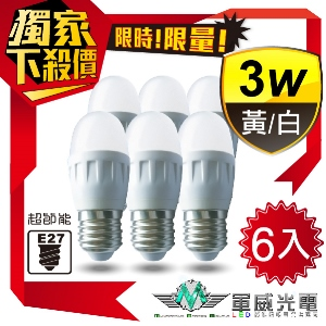 【軍威光電 Ez-Light】LED 3W E2