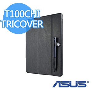 ASUS 華碩 原廠 T100CHI TRICOVER 保護套 黑色