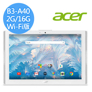 ACER Iconia One 10 B3-A40 10.1吋 (MT8167/2G/16G/WiFi版)