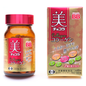 【Eisai-日本衛采】Chocola BB Collagen (120錠/1入) 俏正美BB膠原錠