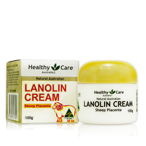 澳洲 Healthy Care 天然頂級羊胎盤返齡綿羊霜 Lanolin Cream (With Sheep Placenta) (100g)