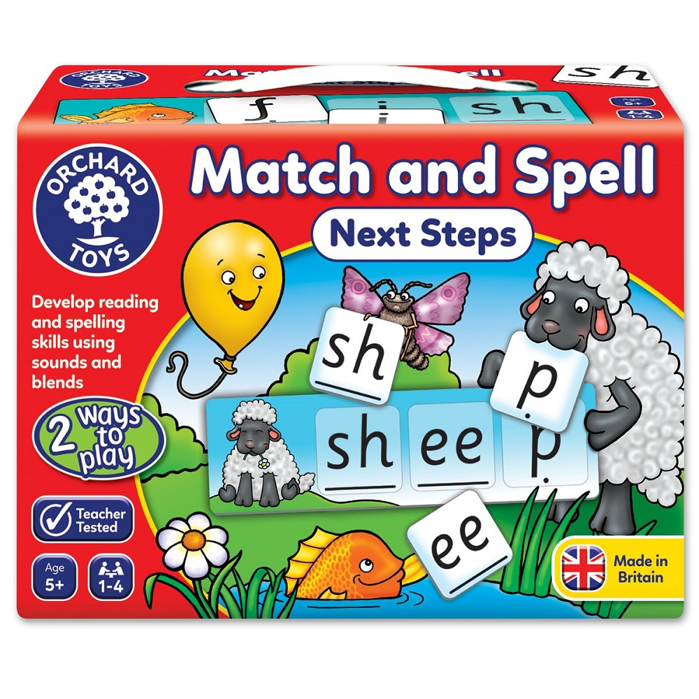 英国 Orchard Toys 幼儿英文学习 Match and Spell Next Step (进阶)