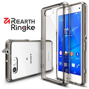 Sony Xperia Z3 Compact【Rearth Ringke】Fusion 透明背蓋手機保護殼
