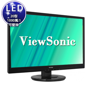 【優派ViewSonic】ViewSonic VA2046a-LED 20型LED寬螢幕