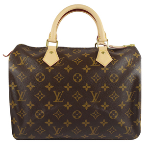 Louis Vuitton LV M41108 M41526 Speedy 30 經典花紋手提包