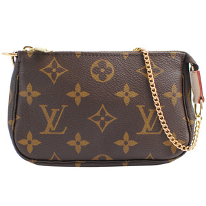 Louis Vuitton LV M58009 Monagram 花紋鍊子包.小