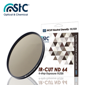 【STC】IR-CUT 6-stop ND64 Filter 105mm 零色偏ND64減光鏡